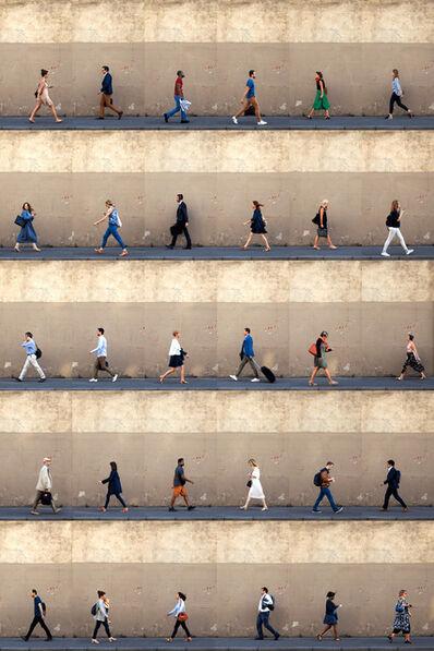 Xan Padron, 'Time Lapse. Rue des Recollets, Paris.', 2018