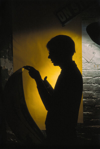 Hervé GLOAGUEN, 'Andy WARHOL at the Factory, NY 1966', 1966