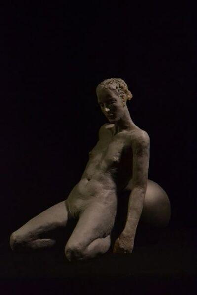 Nicolas Africano, 'Kneeling Figure with Ball', 2016