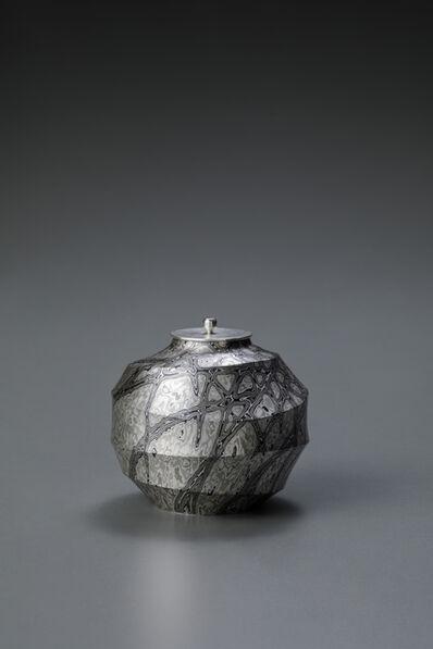 Sako Ryuhei, 'Mokume-gane Tea Caddy', 2017