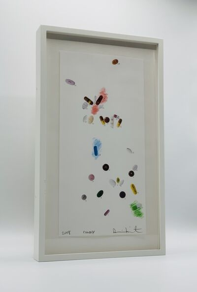 Damien Hirst, 'Colony Drawing (with numbers)', 2008