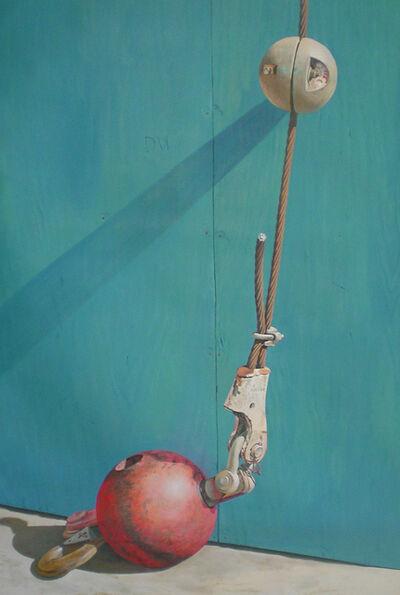 Joseph E. Richards, 'No. 28 (Red Ball)', 1993