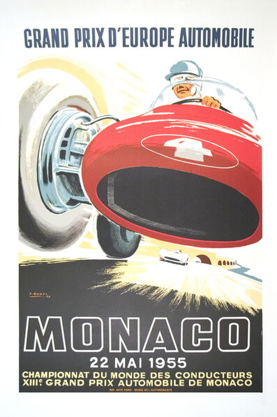 Jean Ramel, 'Monaco Grand Prix 1955', 1985