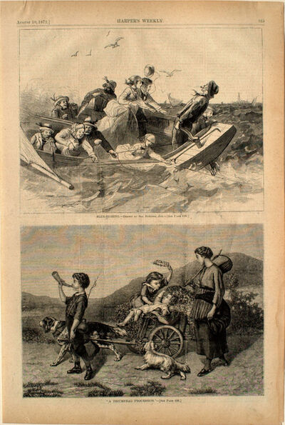 "Solomon Eytinge, '""A Triumphal Procession""', 1872"