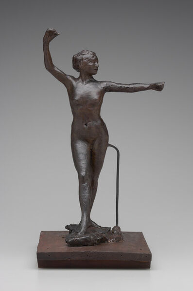 Edgar Degas, 'Dancer Ready to Dance with her Right Foot Forward', 1882-1895