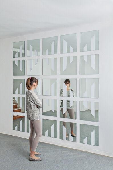 Daniel Buren, 'Verticalement, Horizontalement, Diagonalement : des losanges', 2008