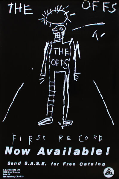 Jean-Michel Basquiat, 'The Offs poster', 1984