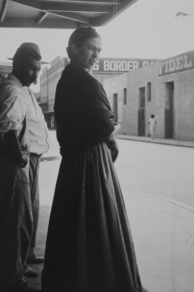 Lucienne Bloch, 'Frida at the Border', 1932