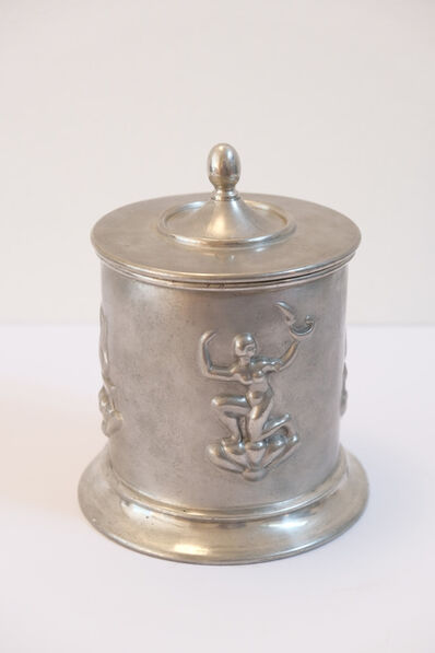 "Nils Fougstedt, '""Swedish grace"" jar in pewter', 1324"