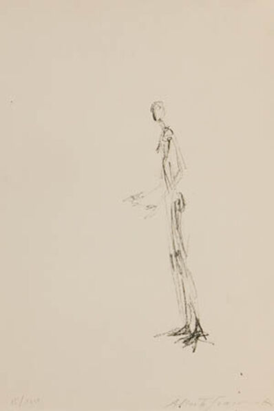 Alberto Giacometti, 'Homme Debout (Lust 101)', 1957