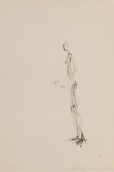 Alberto Giacometti, 'Homme Debout (Lust 101)', 1957