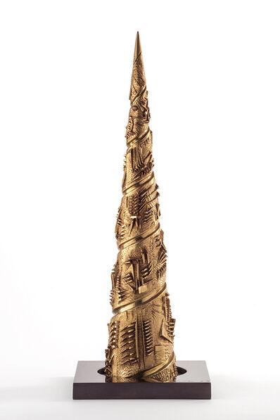 Arnaldo Pomodoro, 'Torre a spirale III', 1983