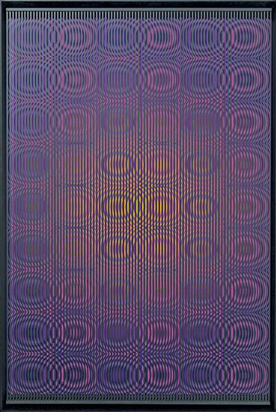 Alberto Biasi, 'Purple rain', 2012