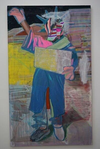 Ezra Johnson, 'Statue of Liberty Guy', 2015