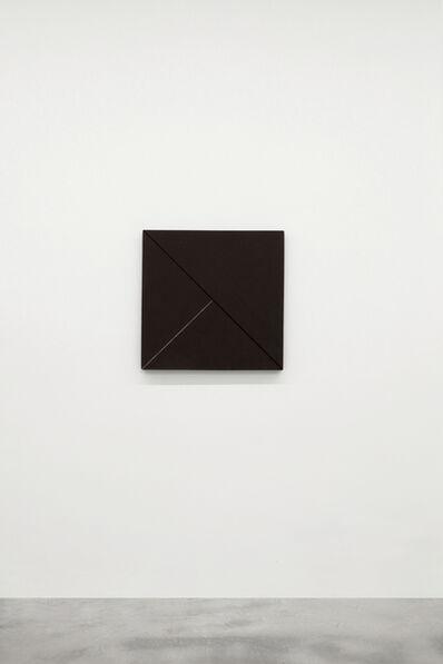 Winfred Gaul, 'Markierungen 72', 1974