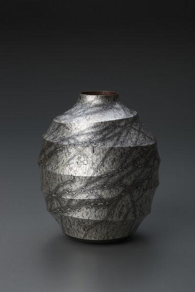 Sako Ryuhei, 'Mokume-gane Vase 05', 2013