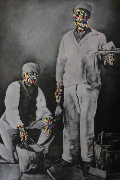 Rory Emmett, 'Colourmen (Artisan Memorial)', 2018