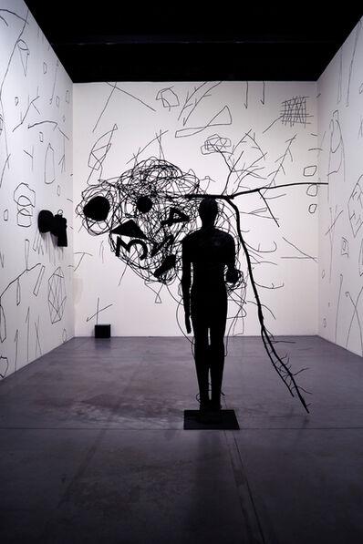 Mimmo Paladino, 'Senza titolo (Installation view)', 2015
