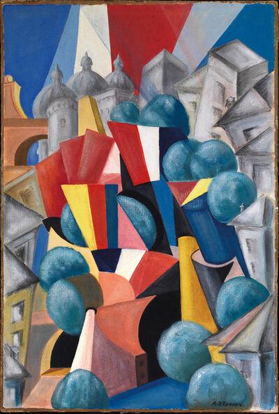 Alexandra Exter, 'LE PAYSAGE DE LA VILLE', 1913/14