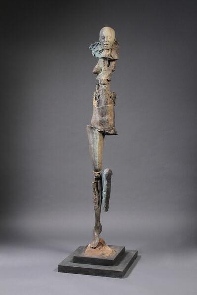 Stephen De Staebler, 'Figure with Closed Eyes, 1/4', 2010