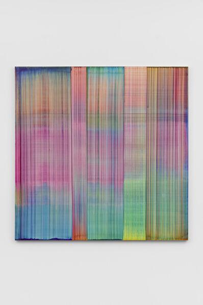 Bernard Frize, 'Bachi', 2019