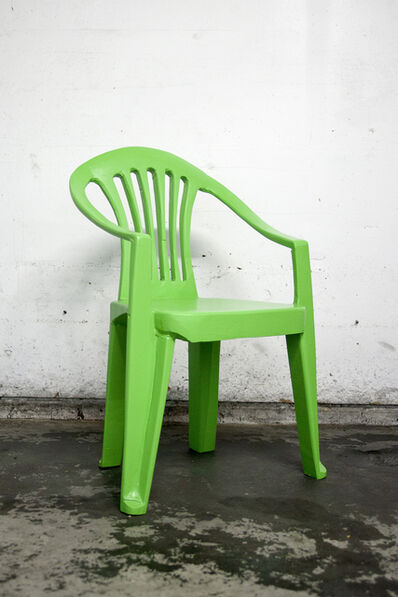 Cameron Platter, 'Green chair I', 2017