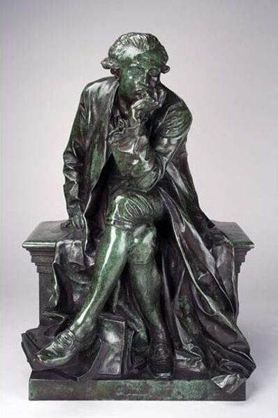 Jules Dalou, 'Reduction of Monument to Antoine-Laurent Lavoisier', Cast ca. 1890, 1900; Modeled 1886, 88