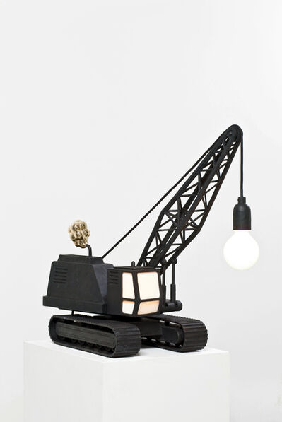 Studio Job, 'Wrecking Ball Lamp', 2010
