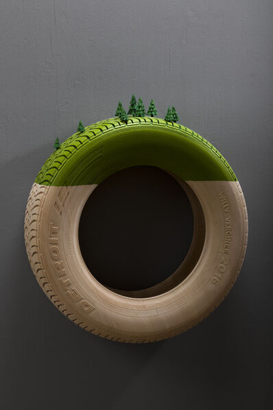 Willy Verginer, 'Detroit Tire', 2019