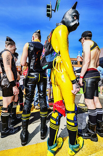 Mitchell Funk, 'Folsom Street Fair.   BDSM  Leather Event  #6', 2015