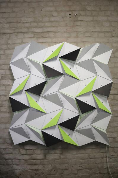 Lab[au], 'Origami Snubsquare (18 Rhombi X 18 Squares) ', 2018
