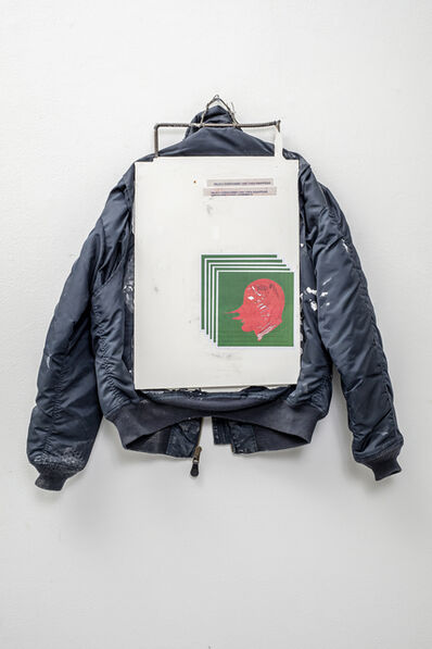 Matias Faldbakken, 'Screen Jacket (Wildly Overcommit)', 2017