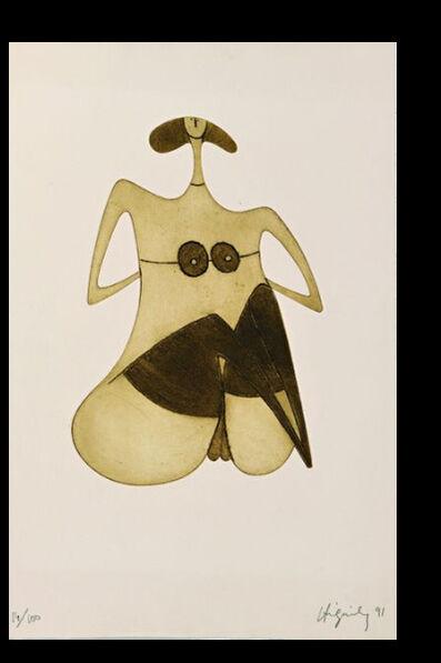 Philippe Hiquily, 'LA FEMME EN BAS', ca. 1991