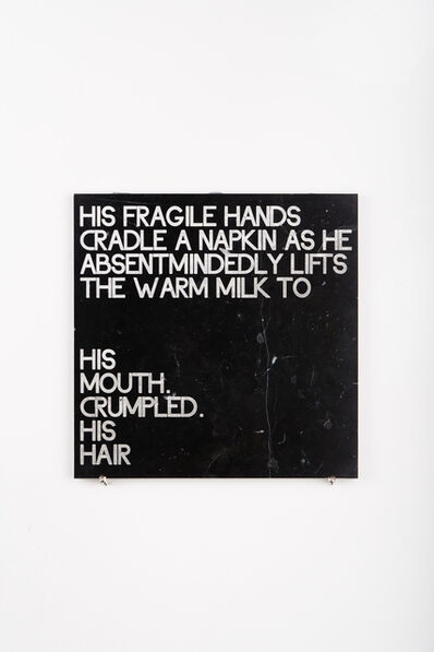 Moi Tran, 'Dying - A Journey 3. Poetry Tile.', 2019