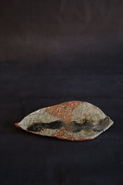 Shiro Tsujimura, 'Leaf Plate (Iga-Style)', 2019