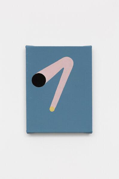 Marcelo Cipis, 'Tudo com Fundo Azul', 2018