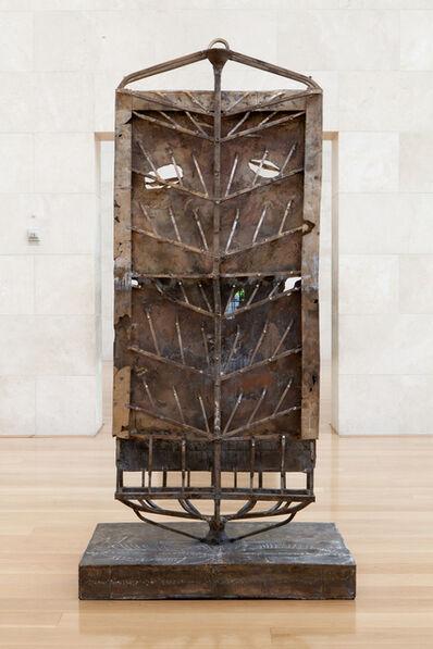 Mark Grotjahn, 'Untitled (Free Standing Large Garden Sculpture Mask M24.f)', 2014