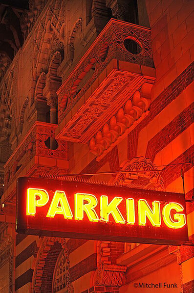 Mitchell Funk, 'Parking on Turk Street in the Tenderloin. San Francisco', 2008
