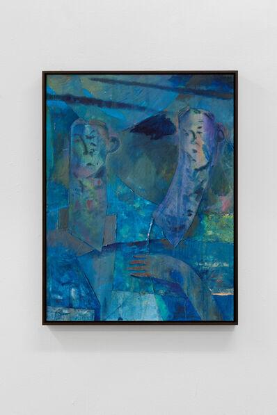 Volker Hüller, 'Double (blue)', 2020