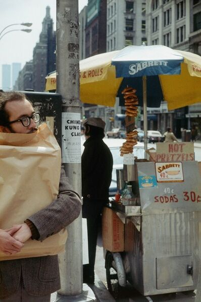 Helen Levitt, 'N. Y.', 1976