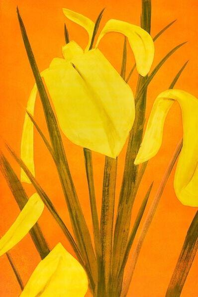 Alex Katz, 'Yellow Flags 4', 2021