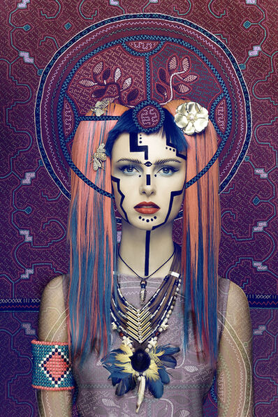 Visionary Art Project, 'Cyber Spirit', 2015