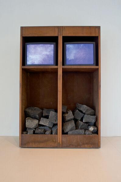 Fabrizio Plessi, 'Cabinet of Stones', 1989