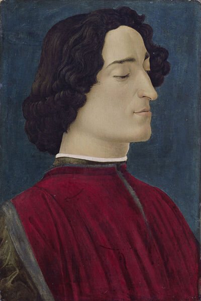 Sandro Botticelli, 'Giuliano de' Medici', 1478