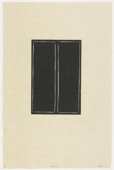 Linda Karshan, 'Desire Paths (plate II)', 2012