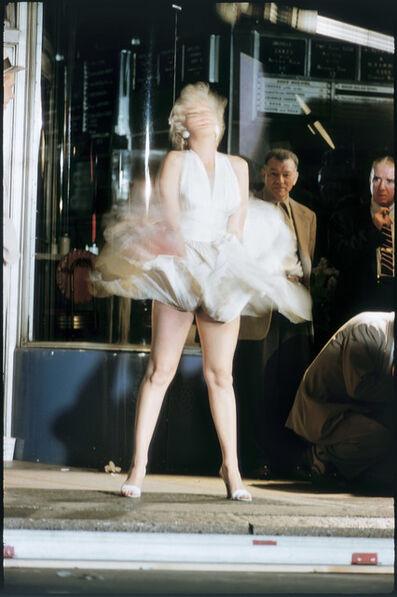 Elliott Erwitt, 'Marilyn Monroe on the Set of 'The Seven Year Itch', New York City, 1954', 1954