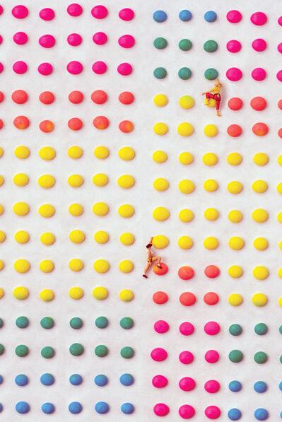 Christopher Boffoli, 'Candy Dot Climbing Wall', 2018