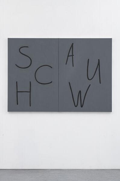Just Quist, 'Schauw', 2018