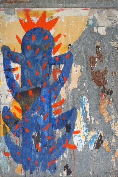 Mimmo Rotella, 'Cactus,   ', 1993