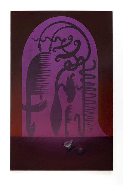 Igor Hosnedl, 'Still life with emerald fig'